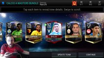 FIFA Mobile Calcio A Master Bundle! Calcio A Packs Featuring AC Milan and Lazio! Best Master Pull!!