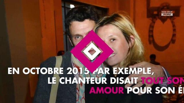 Marc Lavoine divorce : Avec sa femme Sarah, c'est terminé