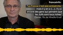 """Daniel, fils de Mireille Knoll: """"La France n'est pas antisémite,  mais il y en a (...). Il y a  encore des gens qui pensent que les Juifs sont tous riches"""""""