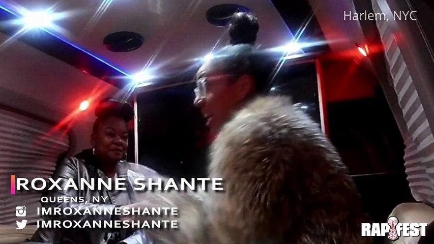 The Rapfest     The Finish Line     Interviews     Roxanne Shante