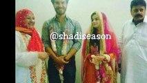 Feroze Khan Nikkah Pictures Leaked - Feroze Khan Wife Alizay First Look - Feroze Nikkah Ceremony