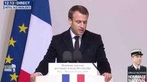 Macron rend hommage au «héros» Beltrame - ZAPPING ACTU LE SOIR DU 28/03/2018
