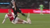 Le roc  Matthijs de Ligt avec l'Ajax Amsterdam