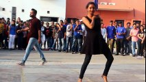 bbd lucknow utkarsh 2k17 street dance girls vs boys dance performance