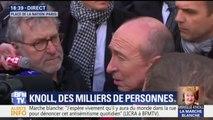 """Antisémitisme: """"C'est intolérable en France"""", dit Collomb à la marche en hommage à Mireille Knoll"""