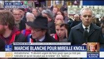 Marche blanche en mémoire de Mireille Knoll: des milliers de personnes dans la rue