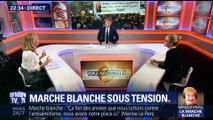 Marche blanche pour Mireille Knoll: Marine Le Pen et Jean-Luc Mélenchon hués