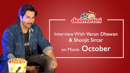 Varun Dhawan And Shoojit Sircar Talk About The Story Of Love - October
