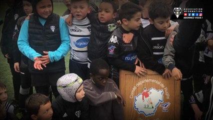 Les jeunes U6 à U10 du CA Brive remportent le trophée départemental de la Corrèze 2018