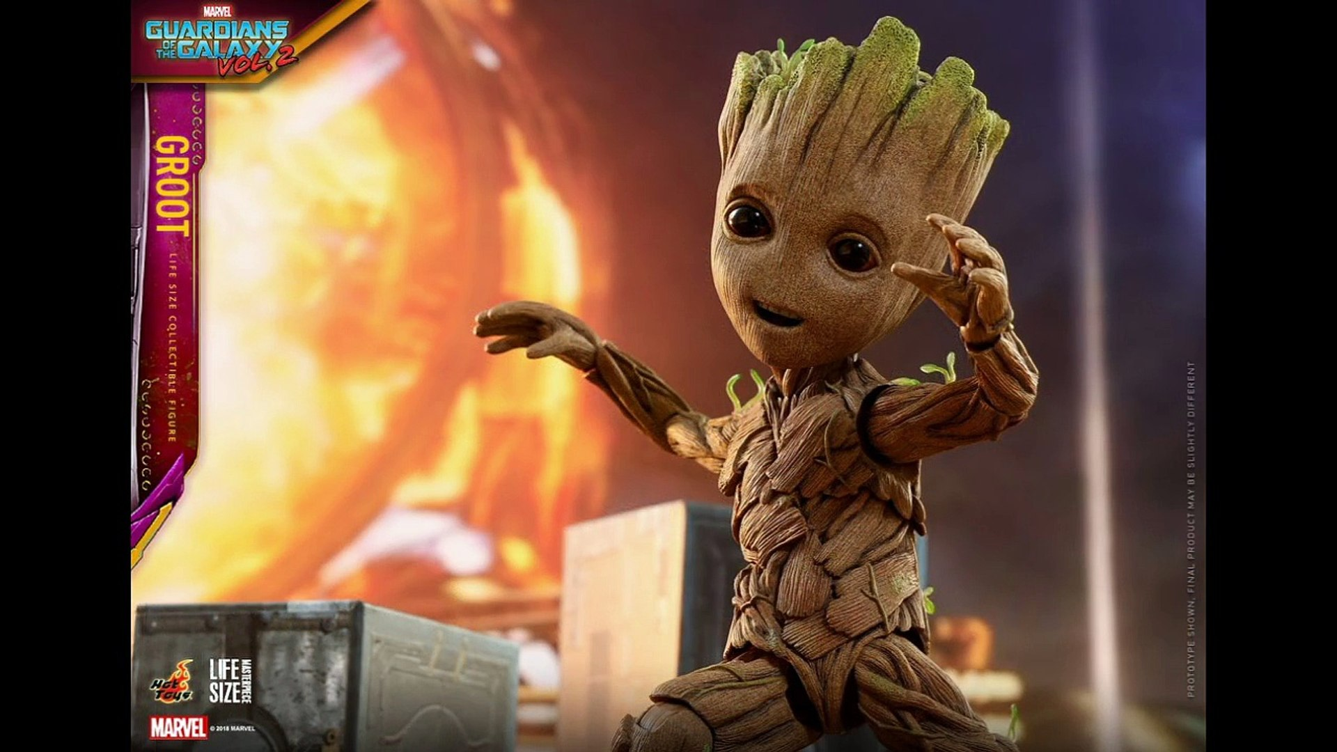 Life Size Baby Groot by Hot Toys