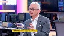 """Laurent Brun, secrétaire fédéral de la CGT cheminots : """"Nous ne voulons payer que pour les jours de grève, pas plus."""""""