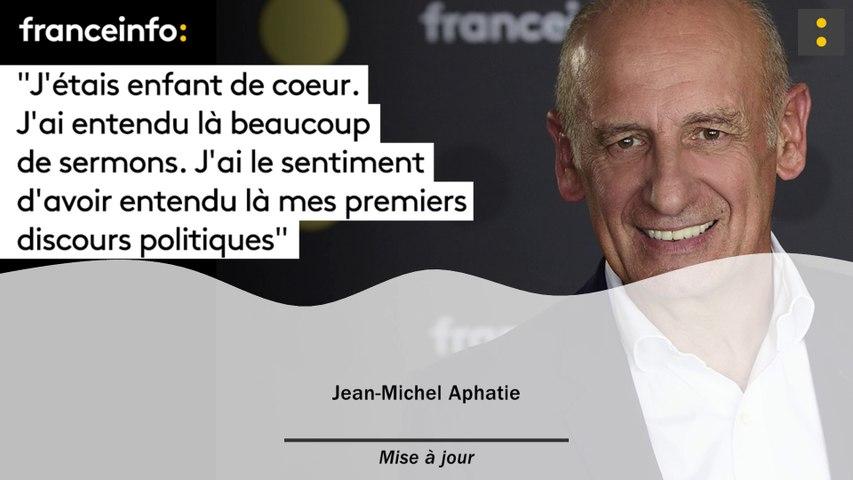 """Jean-Michel Aphatie :""""J'étais enfant de choeur. J'ai entendu là beaucoup de sermons. J'ai le sentiment  d'avoir entendu là mes premiers discours politiques"""""""