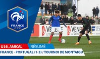 U16, Tournoi de Montaigu : France - Portugal (1-3), le résumé I FFF 2018