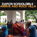 The Dapchi schoolgirls who recently regained freedom from abduction arrive at the Aso Rock Villa in Abuja to be received by President Muhammadu Buhari. The sc