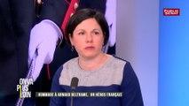 Bénédicte Chéron : « La cérémonie d'hommage à Arnaud Beltrane n'est précisément pas une cérémonie d'hommage à une victime mais une cérémonie d'hommage à un combattant »