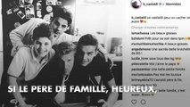 PHOTOS. Benjamin Castaldi entouré de ses trois fils pour fêter ses 48 ans