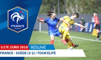 U17 Féminine, Tour Elite 2018 : France-Suède (3-2), le résumé I FFF 2018