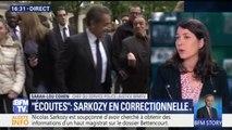 """Affaire des écoutes: Sarkozy renvoyé en correctionnelle pour """"corruption passive"""" et """"trafic d'influence"""""""