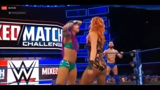 WWE Mixed Match Challenge 27 March 2018 Full Show Highlights