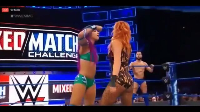 WWE_Mixed_Match_Challenge_27_March_2018_Full_Show_Highlights