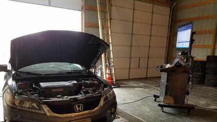 Honda Accord V6 Dyno Test