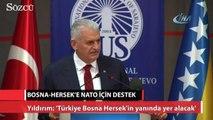 Bosna-Hersek'in NATO üyeliği için Başbakan'dan destek geldi