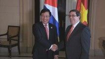 Cuba y Vietnam buscan mantener apoyo mutuo en la construcción del socialismo