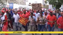S.Africa opposition parties gather in Pretoria urging Zuma to quit [no comment]
