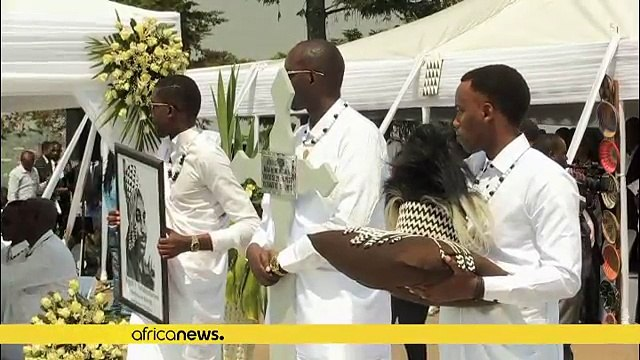 Last king of Rwanda buried at home after years in exile