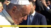 Pope says tragedies like Armenian 'genocide' should not happen again