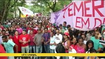 Brazilians protest austerity plans of interim president
