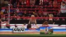 WWE RAW 5-12-08 Melina and Beth Phoenix vs Maria and Mickie James + Backstage Melina face turn