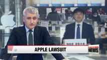Local law firm representing Korean iPhone users sues Apple