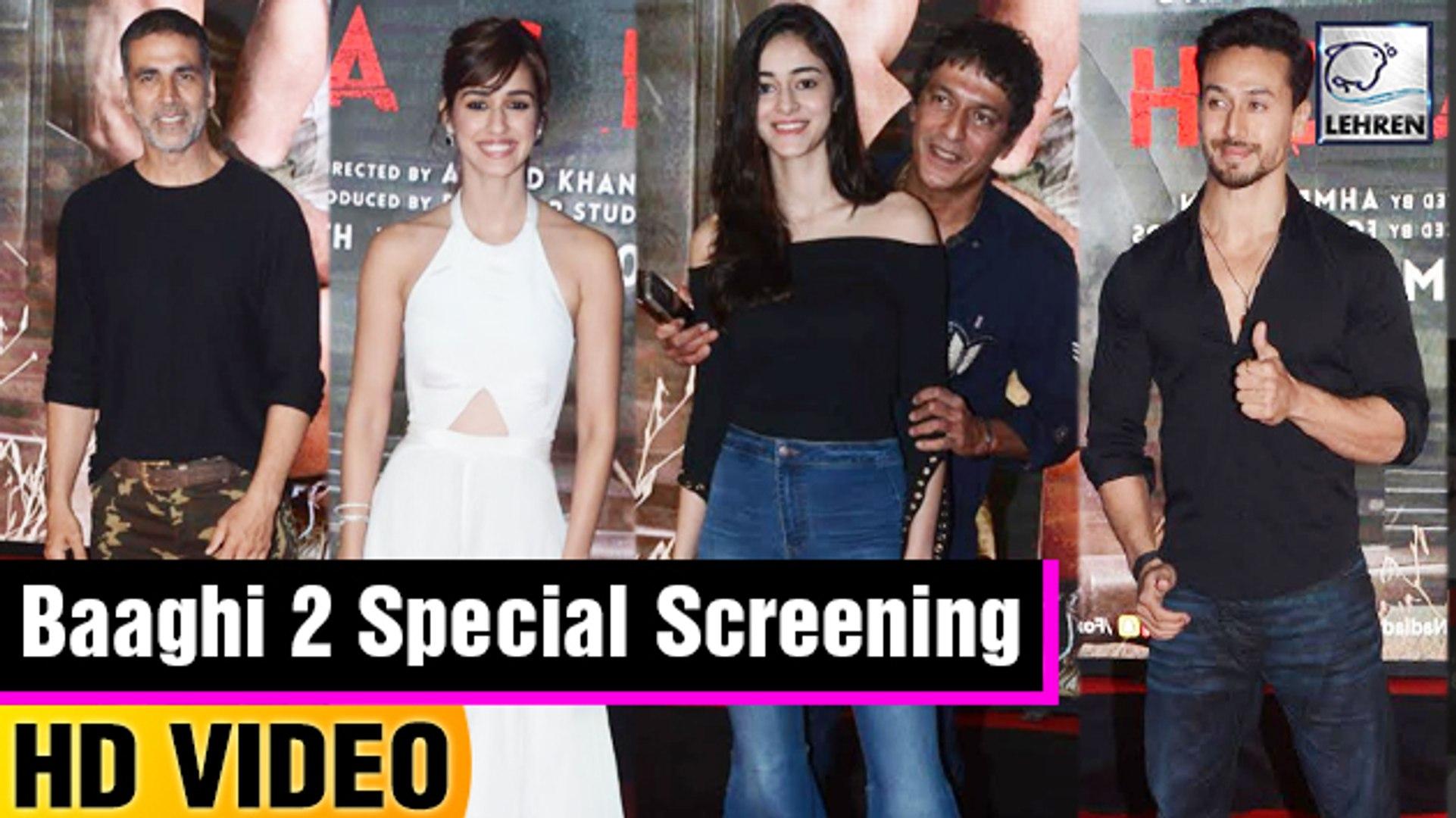 Special Screening Of Baaghi 2 | Tiger Shroff | Disha Patani