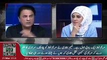 Maryam Nawaz Ek barbie Doll hai - Naeem Bukhari Ne Jab Ye kaha To Dekhiye Khatoon Anchor Ka Rade Amal