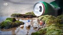 Street-Art im Miniaturformat von Slinkachu | Euromaxx