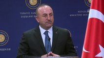 Çavuşoğlu: 'Terör örgütüyle Türkiye arasında arbuluculuk yapma cüretini nerden buluyorsun' - ANKARA