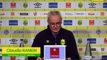 Claudio Ranieri avant FCN-ASSE