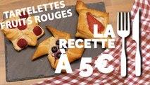 RECETTE À 5€ :  Tartelettes aux fruits rouges