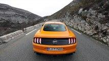 La Ford Mustang et son V8 explosif