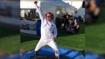 La danse très salissante de Robert Downey Jr. pour une bonne cause