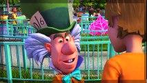 Alice au Pays des Merveilles Jeux Vidéo de Dessin Animé en Français - Disneyland Adventures #2
