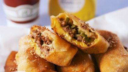 These Big Mac Egg Rolls Taste Just Like The Real Thing