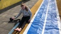 Summer Gymnastics ☀️ Ferien Spaß auf der AirTrack Bahn / Boden und Trampolin