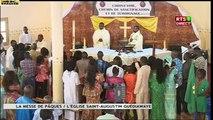 La messe de Pâques à l'église Saint- Augustin de Guédiawaye