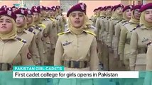 With an objective to produce future female leaders, an elite Cadet College opens its door in Mardan KPK, the 1st female only Cadet College in #Pakistan.