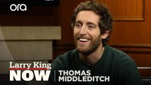 Thomas Middleditch wants to talk to his dog