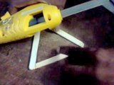DIY_ How to make star_ninja star using popsicle sticks, ice cream sticks
