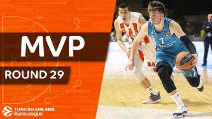 Round 29 MVP: Luka Doncic, Real Madrid