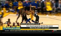 Kevin Durant ejected for 5th time this season-What is the problem with Kevin Durant?